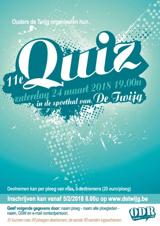 Inschrijving Quiz VOLZET