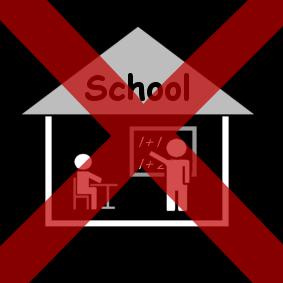 14/3 GEEN school!