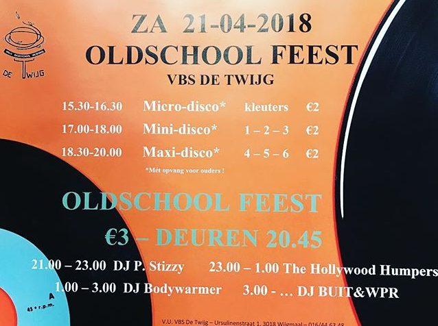 Oldschoolfeest 21/04