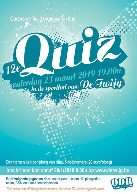 Inschrijving Quiz